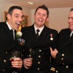 Georgina and Chris - our first Naval wedding